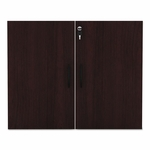 Alera® Valencia Series Cabinet Door Kit For All Bookcases - 31 1/4'' Wide - Mahogany [ALEVA632832MY-FS-NAT]