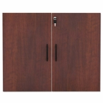 Alera® Valencia Series Cabinet Door Kit For All Bookcases - 31 1/4'' Wide - Medium Cherry [ALEVA632832MC-FS-NAT]