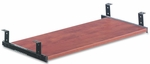 Alera® Valenca Series Underdesk Keyboard/Mouse Shelf- 28''W x 12''D - Medium Cherry [ALEVA312812MC-FS-NAT]