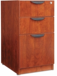Alera® Valencia Box/Box/File Full Pedestal - 15 5/8w x 20 1/2d x 28 1/2h - Medium Cherry [ALEVA532822MC-FS-NAT]