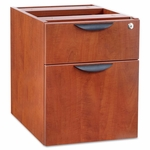 Alera® Valencia Series 3/4 Box/File Pedestal - 15 5/8 x 20 1/2 x 19 1/4 - Medium Cherry [ALEVA552222MC-FS-NAT]