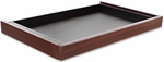 Alera® Valencia Series Center Drawer - 24 1/2w x 15d x 2h - Mahogany [ALEVA312414MY-FS-NAT]