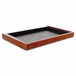 Alera® Valencia Series Center Drawer - 24 1/2w x 15d x 2h - Medium Cherry [ALEVA312414MC-FS-NAT]