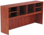 Alera® Valencia Series Open Storage Hutch- 70-5/8''W x 15''D x 35-1/2- Medium Cherry [ALEVA297215MC-FS-NAT]