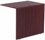 Alera® Valencia Series Reversible Return/Bridge Shell- 35''W x 23-5/8''D - Mahogany [ALEVA353624MY-FS-NAT]