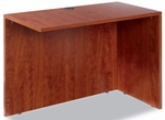 Alera® Valencia Series Reversible Return/Bridge Shell- 42''W x 23-5/8''D - Medium Cherry [ALEVA354224MC-FS-NAT]