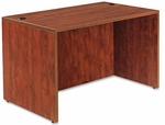 Alera® Valencia Series Straight Front Desk Shell- 47-1/4''W x 29-1/2''D x 29-1/2''H - Med Cherry [ALEVA214830MC-FS-NAT]