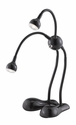 Alien LED Desk Lamp - Black