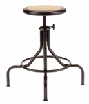 All Purpose Swivel Backless Stool with 4-Legged Base [221M-FS-UC]