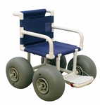Echo All-Terrain Chair with Casters - 34''W X 36''D [E720-ATC-MJM]