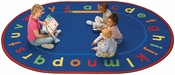 Alphabet Reading and Storytime Rug