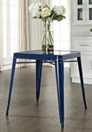 Amelia Metal Cafe Table in Blue [CF220130-BL-FS-CRO]
