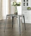 Amelia Metal Cafe Table in Galvanized [CF220130-GA-FS-CRO]