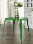 Amelia Metal Cafe Table in Green [CF220130-GR-FS-CRO]