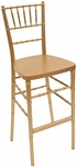 American Classic Gold Wood Chiavari Barstool [BB101-WOOD-GOLD-CSP]