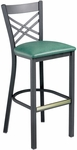 Americana Cross Back Barstool [942-30-MTS]