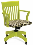 Americana Swivel Arm Chair [300-O-FS-CMF]