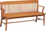 Americana Wood Bench [321-O-FS-CMF]