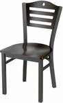 Americana Woods Circle and Slat Back Chair [953-MTS]
