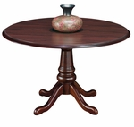 Andover 48'' Round Conference Table - Sherwood Mahogany [7462-90-FS-DMI]