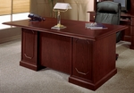 Andover 72'' Executive Desk - Sherwood Mahogany [7462-36-FS-DMI]