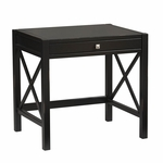 Anna Laptop Desk - Antique Black [86111C124-01-KD-U-FS-LIN]