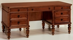 Antigua 67.25'' Executive Desk - West Indies Cherry [7480-34A-FS-DMI]