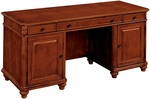 Antigua Computer Credenza - West Indies Cherry [7480-22A-FS-DMI]