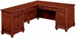 Antigua Left Computer L Desk - West Indies Cherry [7480-49-FS-DMI]