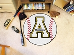 Appalachian State Baseball Mat 27'' Diameter [3196-FS-FAN]
