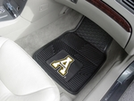Appalachian State Heavy Duty 2-Piece Vinyl Car Mats 18'' x 27'' [12435-FS-FAN]