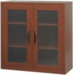 Apres™ 29.75'' W x 11.75'' D Two Door Modular Storage Cabinet - Cherry [9442CY-FS-SAF]