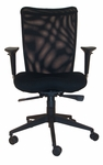 Argos High Back Adjustable Mesh Conference Chair - Black [CTM-5500-B-TA-FX7-FS-CPL]