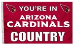 Arizona 'Cardinals Country' 3' X 5' Flag w/ Grommets [94122B-FS-BSI]