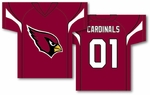 Arizona Cardinals Jersey Banner 34'' x 30'' - 2-Sided [93922B-FS-BSI]