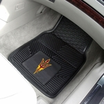 Arizona State University Vinyl Car Mat 2 Pc 18'' x 27'' [11933-FS-FAN]