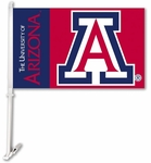 Arizona Wildcats Car Flag with Wall Brackett [97013-FS-BSI]