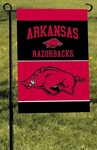 Arkansas Razorbacks 2-Sided Garden Flag [83142-FS-BSI]