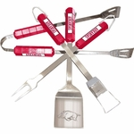 Arkansas Razorbacks 4 Pc Bbq Set [61142-FS-BSI]