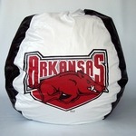 Arkansas Razorbacks Bean Bag Chair [BB-40-ARKANSAS-FS-BBB]