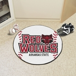 Arkansas State University Baseball Mat 27'' Diameter [2352-FS-FAN]