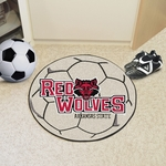 Arkansas State University Soccer Ball Mat 27'' Diameter [2351-FS-FAN]