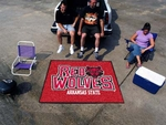 Arkansas State University Tailgater Rug 60'' x 72'' [2350-FS-FAN]