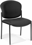 Manor Guest and Reception Chair - Black Fabric [408-805-MFO]