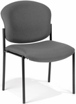Manor Guest and Reception Chair - Gray Fabric [408-801-MFO]