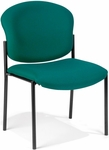 Manor Guest and Reception Chair - Teal Fabric [408-802-MFO]