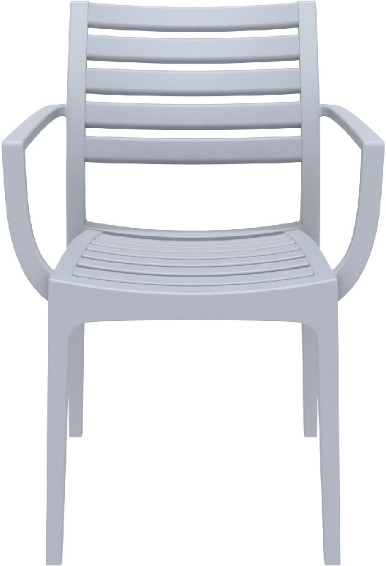 Artemis Outdoor Dining Arm Chair Silver Gray ISP011 SIL  : artemis outdoor dining arm chair silver gray isp011 sil cmp 6 from www.bizchair.com size 546 x 800 jpeg 48kB