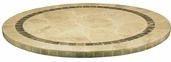 Atcostone 48'' Round Table Top in Sand Beige