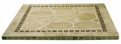 Atcostone 36'' x 36'' Square Table Top in Sand Beige