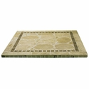 Atcostone 32'' x 32'' Square Table Top in Sand Beige